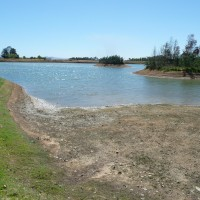 01_Die Wasservorräte sind erkennbar knapp - auch hier in der Region Stellenbosch.